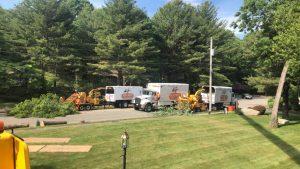 Fleet of Trucks on the Jobsite